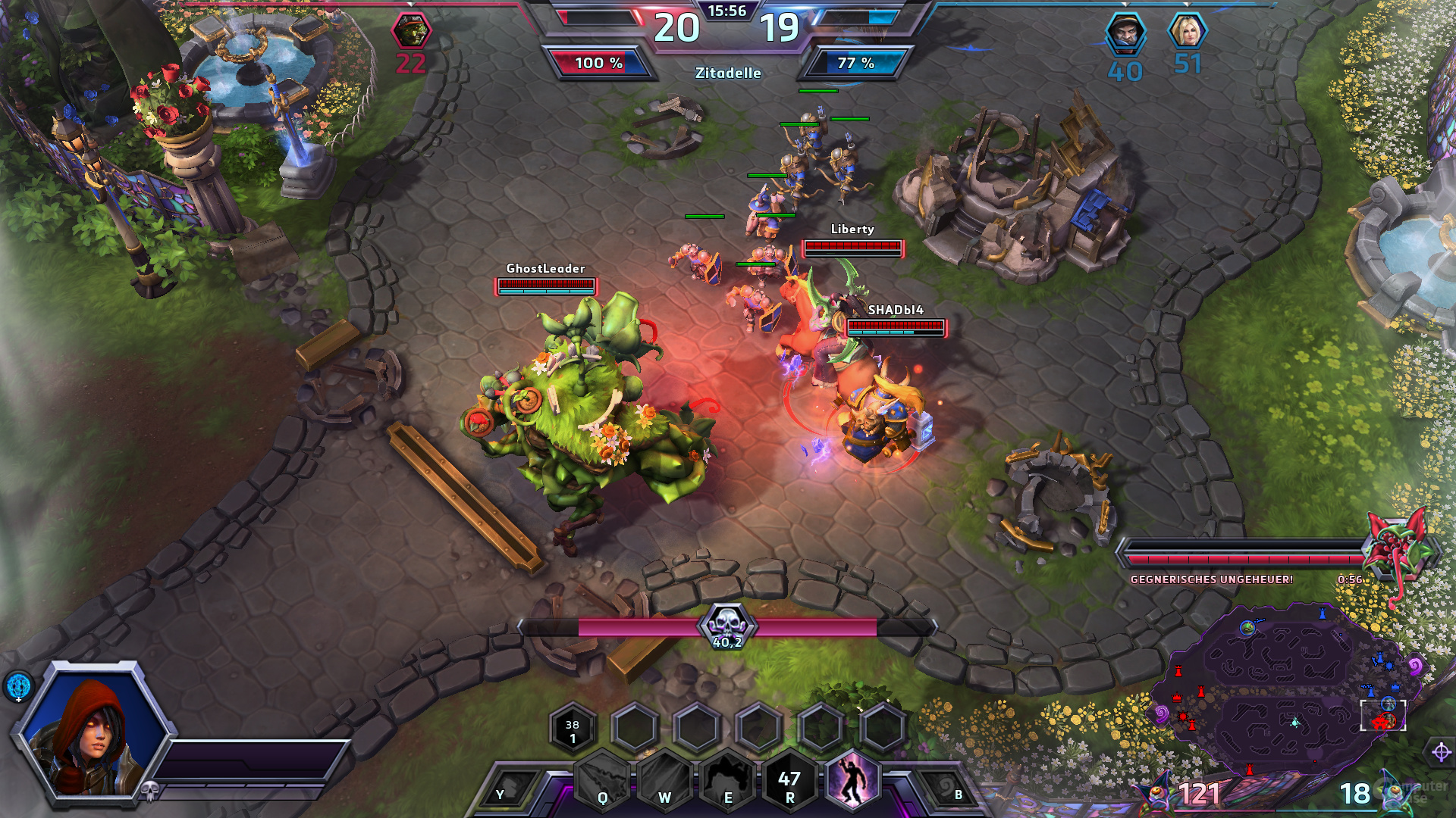 Heroes of the Storm – Quest-Monster führt zum Sieg