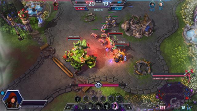 Heroes of the Storm – Quest-Monster führt zum Sieg