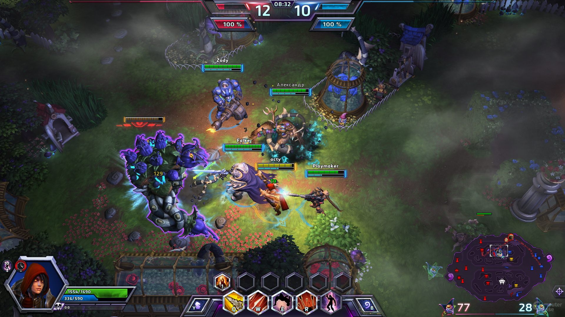 Heroes of the Storm – Karten-Quest
