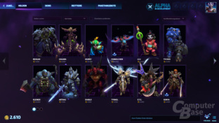 Heroes of the Storm – Helden-Shop