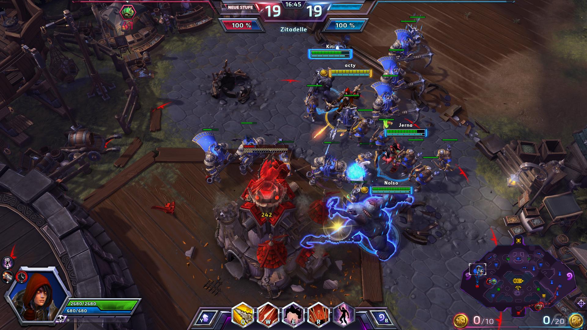Heroes of the Storm – Eroberung der feindlichen Base