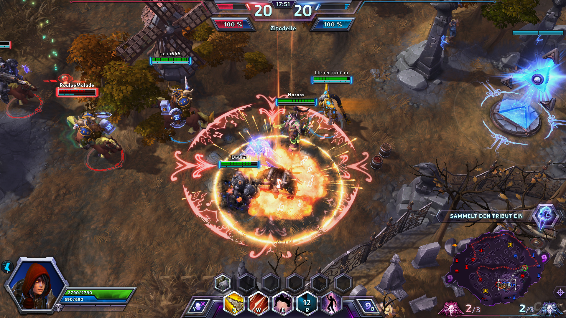 Heroes of the Storm – Kampf