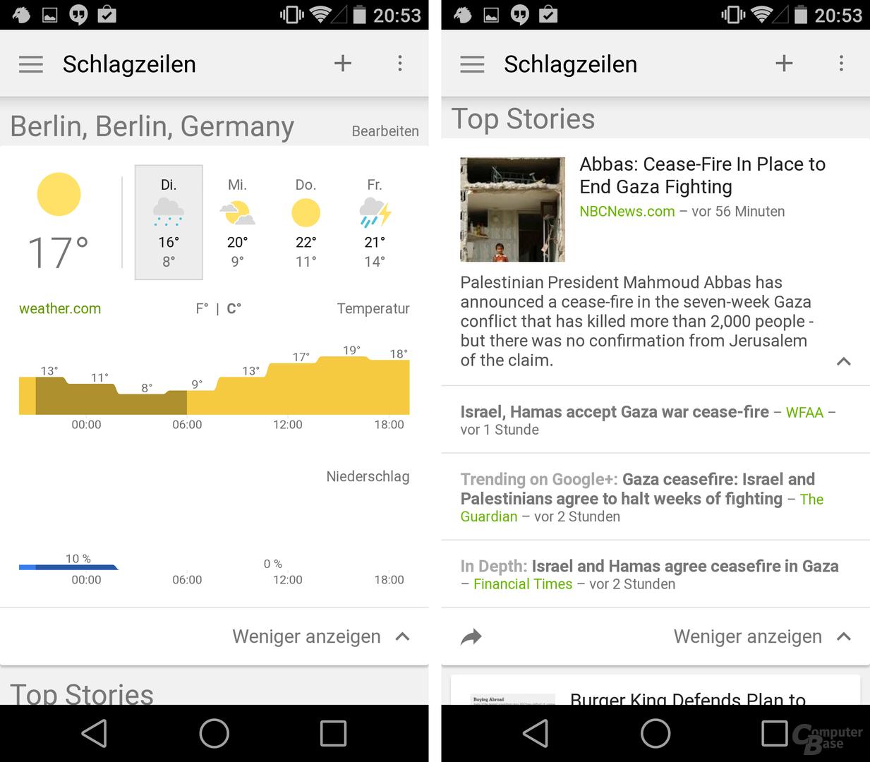 Google News & Wetter 2.0