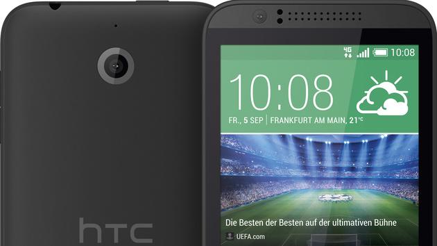 HTC Desire 510: 200-Euro-Smartphone mit 64-Bit-SoC kommt im September