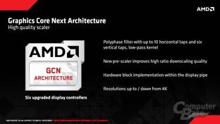 AMD Tonga - neuer Scaler