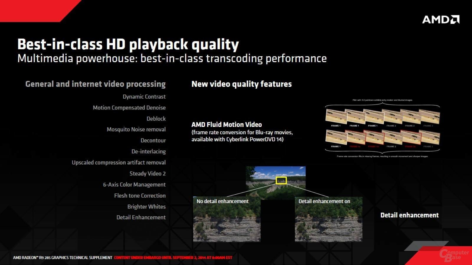 AMD Tonga - bessere HD-Wiedergabe