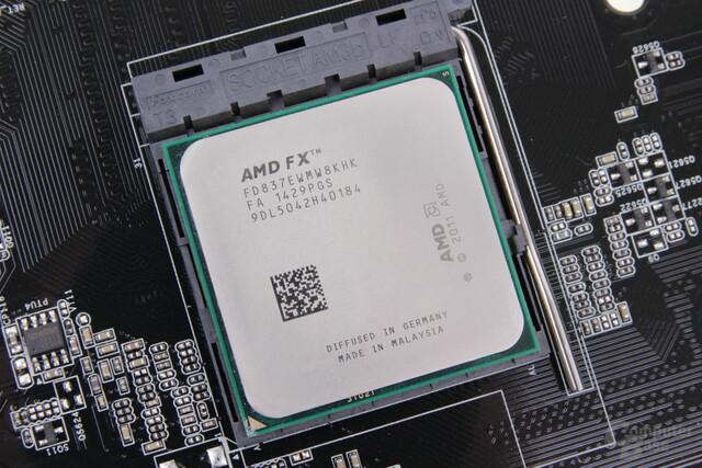 AMD FX-8370E im Sockel AM3+