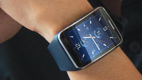 Samsung Gear S: Smartwatch mit gebogenem Display, Tizen und 3G