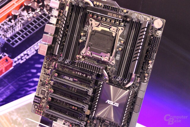 Asus X99-E-WS für Workstations ab September