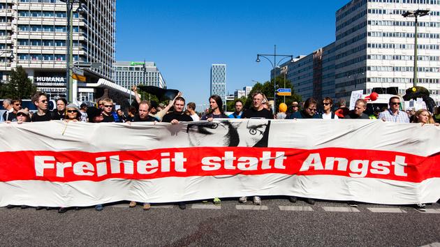 Freiheit statt Angst: Aufruf zur Demo gegen grenzenlose Überwachung