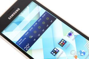 Kontraststarkes SAMOLED-Display mit sichtbar höherer 720p-Auflösung