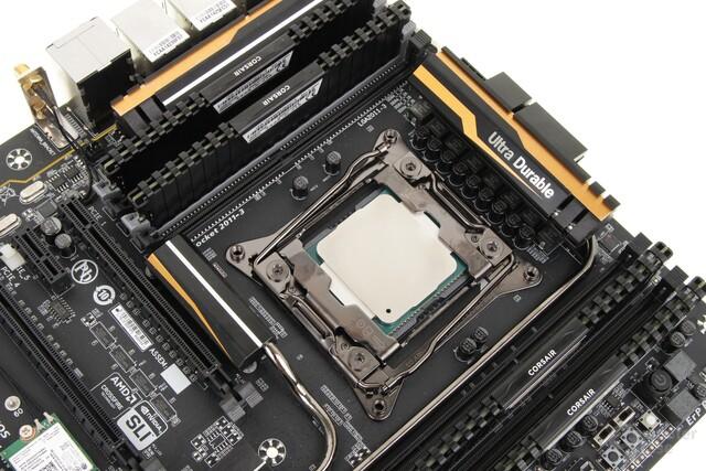 Core i7-5820 und DDR4 von Corsair verbaut