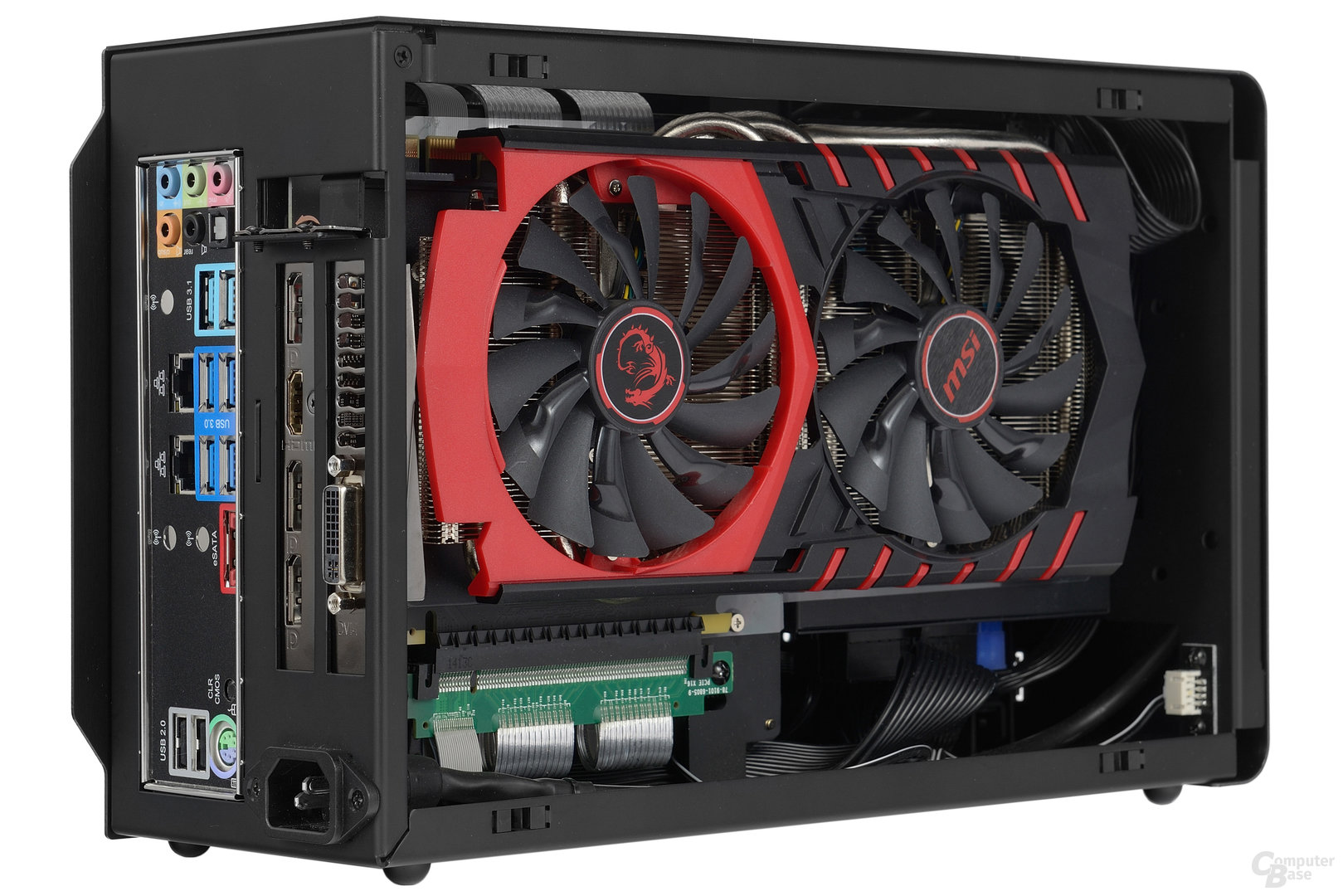 DAN Cases A4-SFX – Testsystem mit MSI GeForce GTX 980 Ti