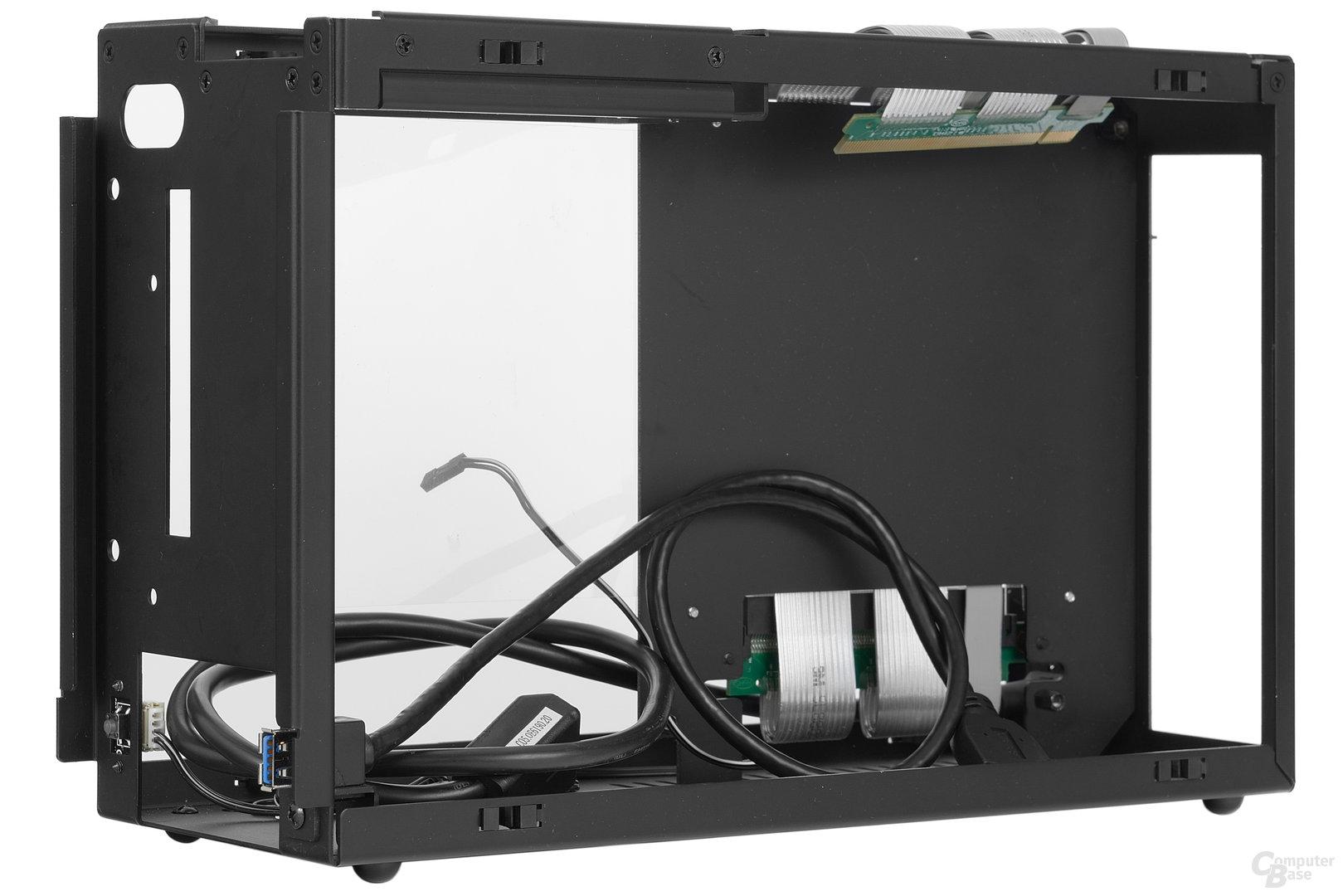 DAN Cases A4-SFX – Verkleidung entfernt