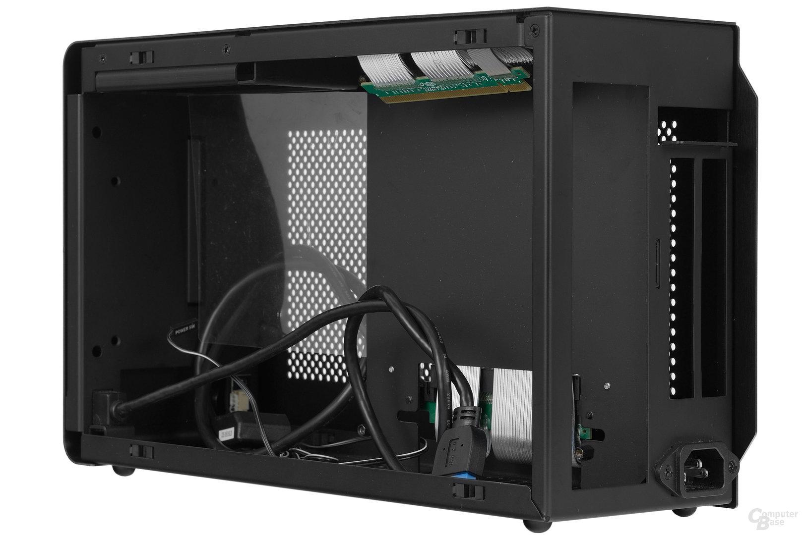 DAN Cases A4-SFX – Rechte Kammer seitlich