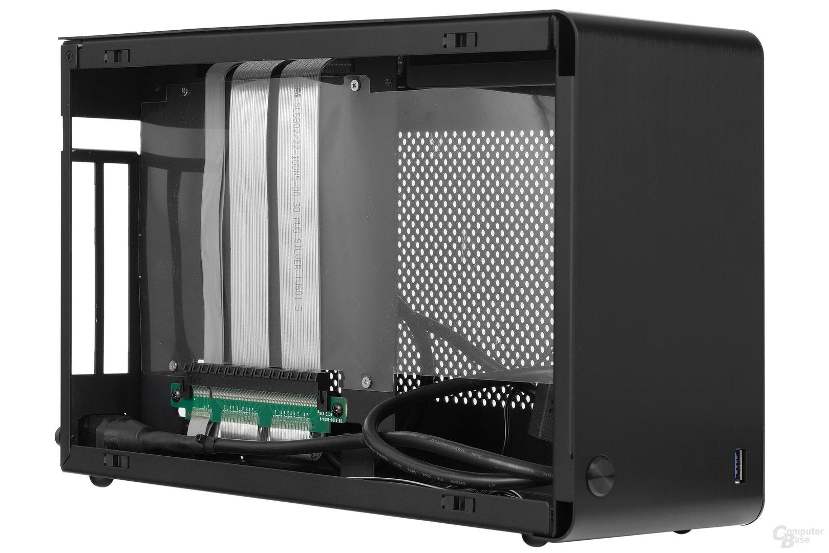 DAN Cases A4-SFX – Linke Kammer seitlich