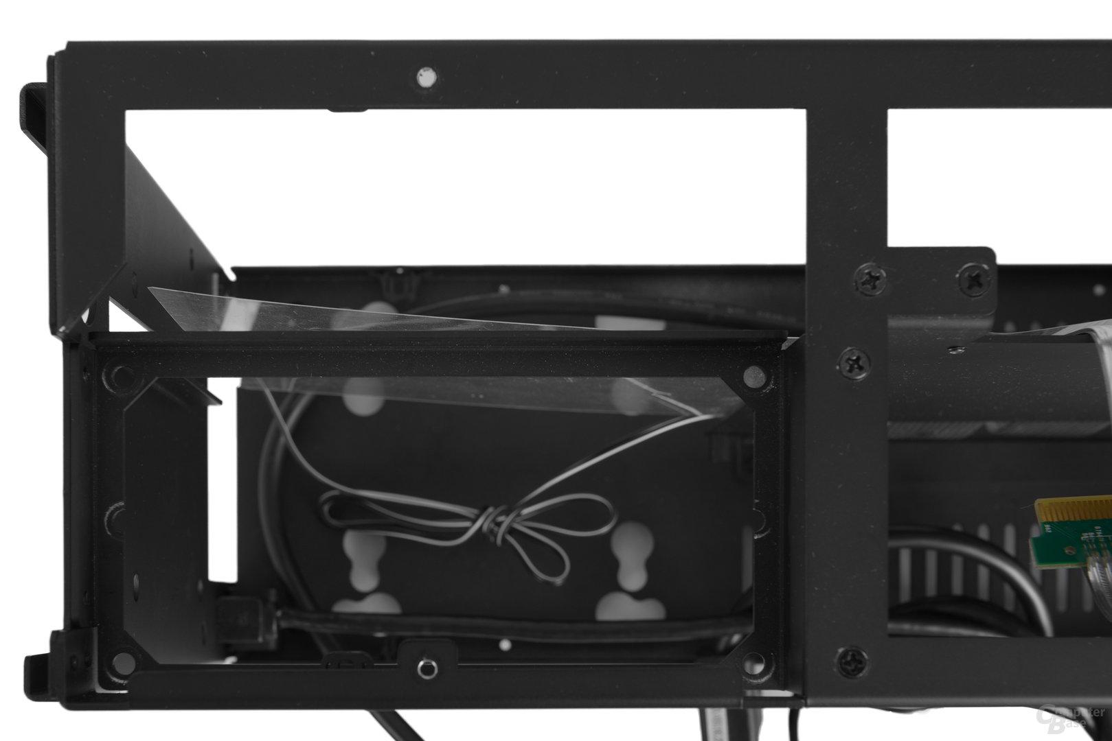 DAN Cases A4-SFX – Netzteilbefestigung von Oben