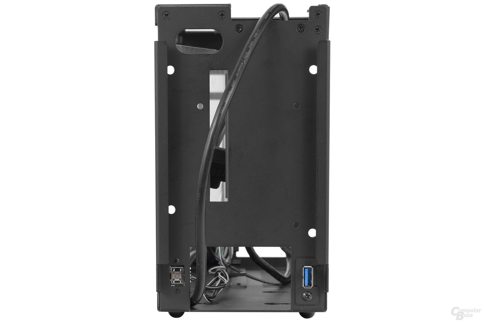 DAN Cases A4-SFX – Frontansicht ohne Verkleiddung
