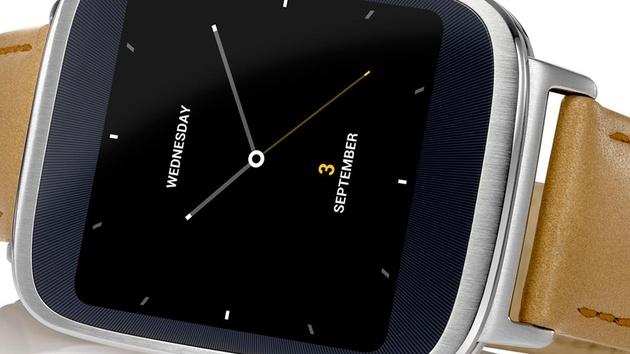 ZenWatch: Smartwatch von Asus mit Leder und Stahl