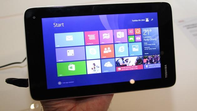 Toshiba Encore Mini: 7-Zoll-Tablet mit Windows 8.1 für 199 Euro