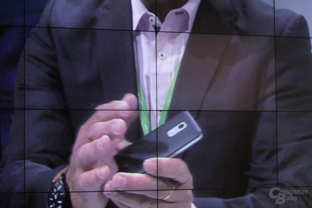 Prototyp eines 50-Dollar-Smartphone