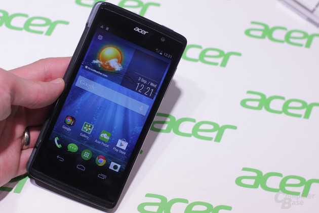 Das Acer Liquid E500 für 149 Euro