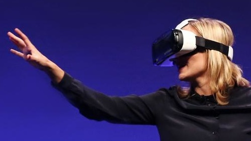 Samsung Gear VR: VR-Brille mit Display des Galaxy Note 4