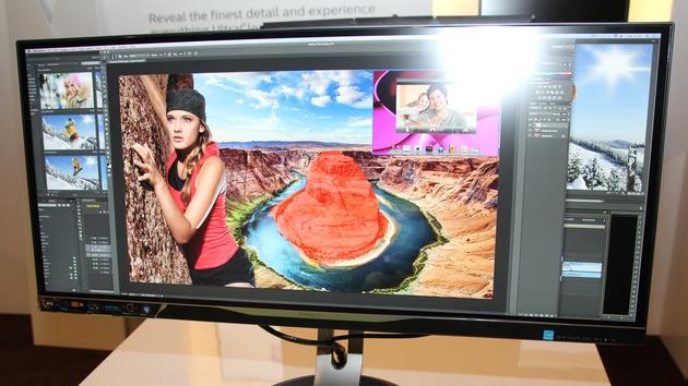 Philips: Monitore mit 3.440 × 1.440 auf 34 Zoll und UHD auf 40 Zoll
