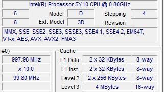 Intel Core M: Keine Einstellung, nur Steppingwechsel