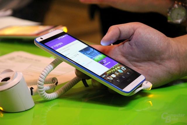 HTC Desire 820 ausprobiert