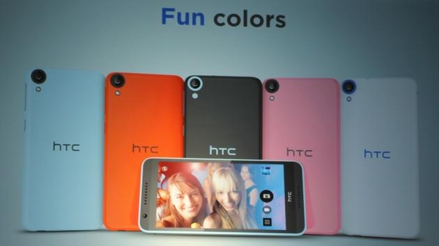 IFA 2014: HTC Desire vereint 64-Bit mit 8-MP-Frontkamera