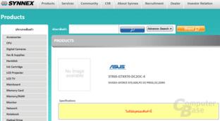 Asus GTX 970 Strix mit 4 GB gelistet