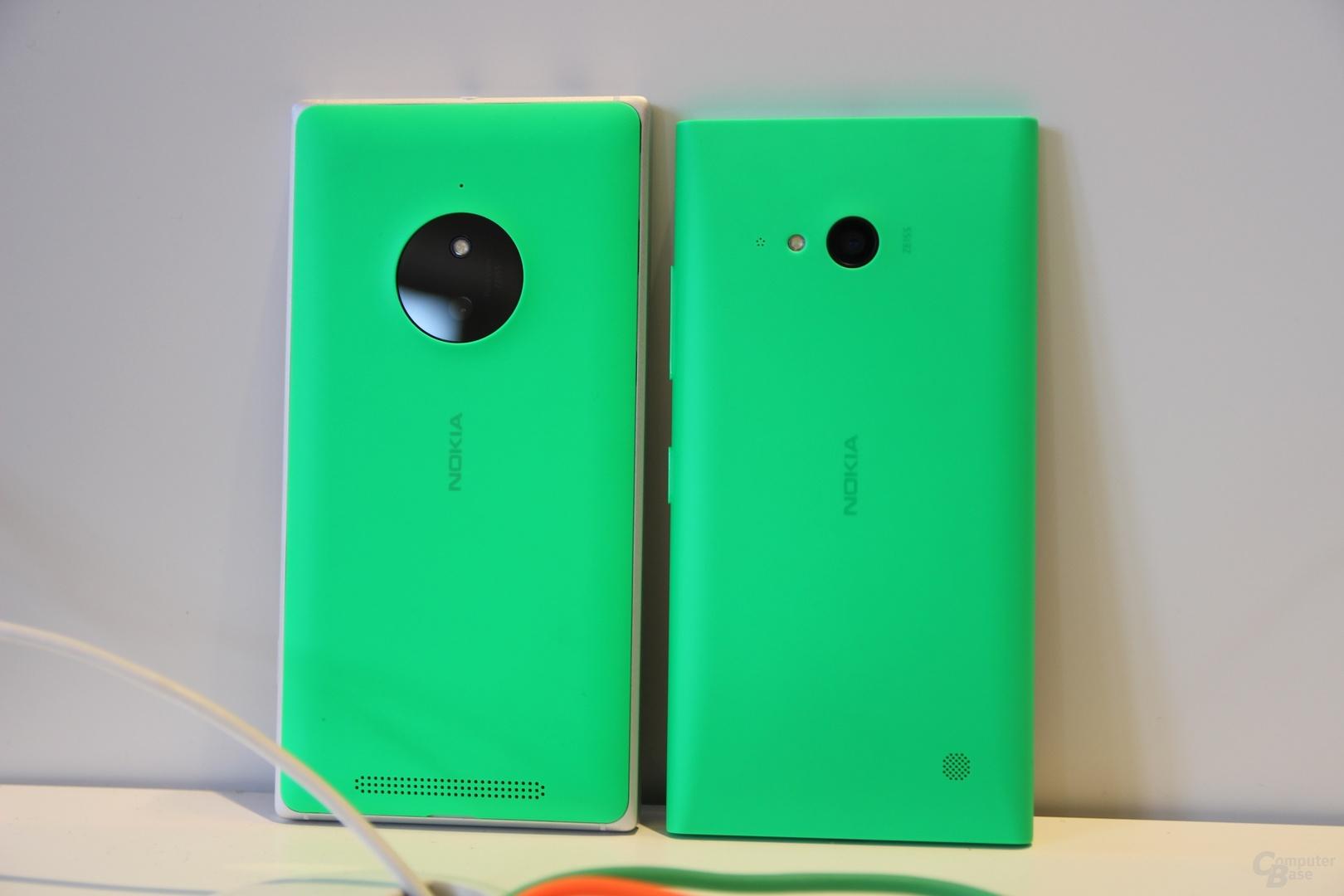 Lumia 830 und Lumia 730/735