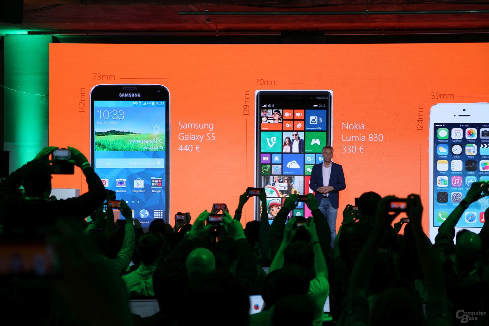 Lumia 830 und Lumia 730/735 Präsentation