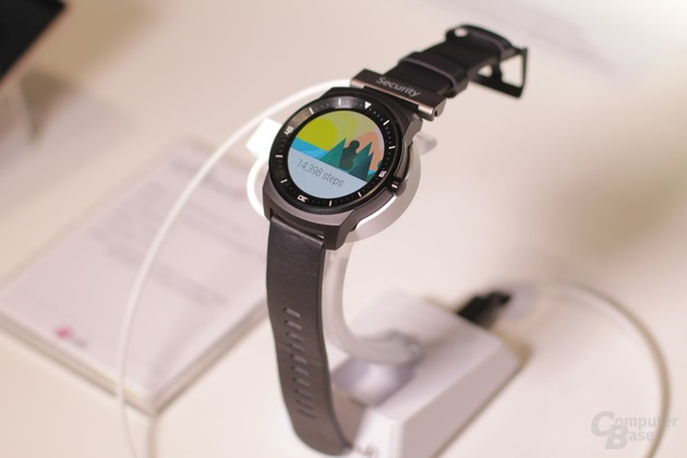 Android Wear auf der G Watch R