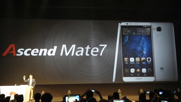 Phablet: Huawei Ascend Mate 7 begeht nicht Samsungs Fehler