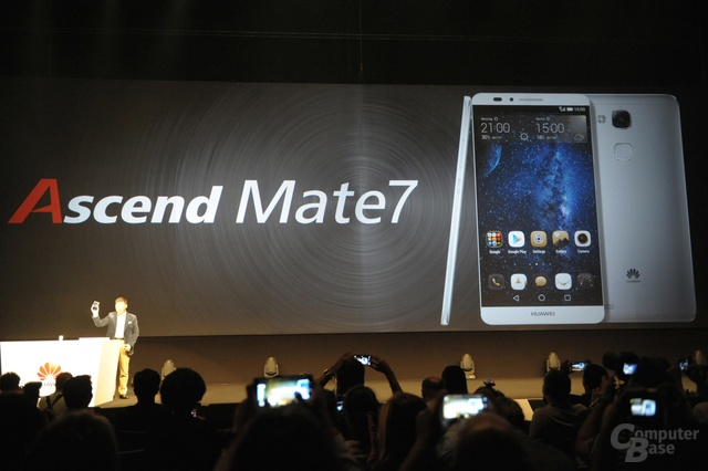 Huawei Ascend Mate 7 Präsentation
