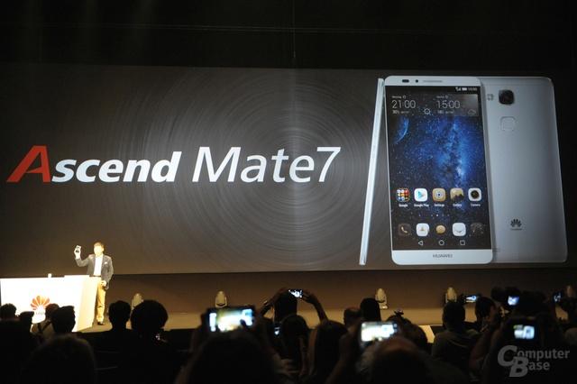Huawei Ascend Mate 7 Präsentation