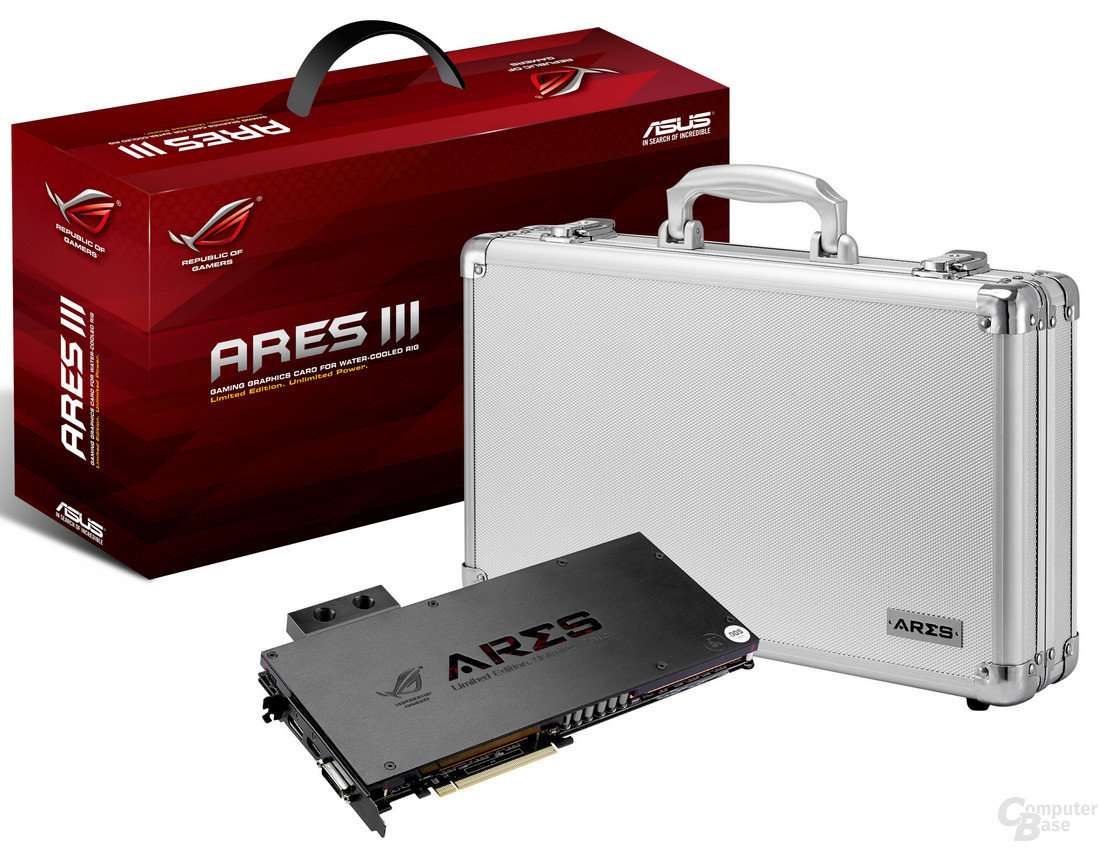 Asus Ares III mitsamt Koffer