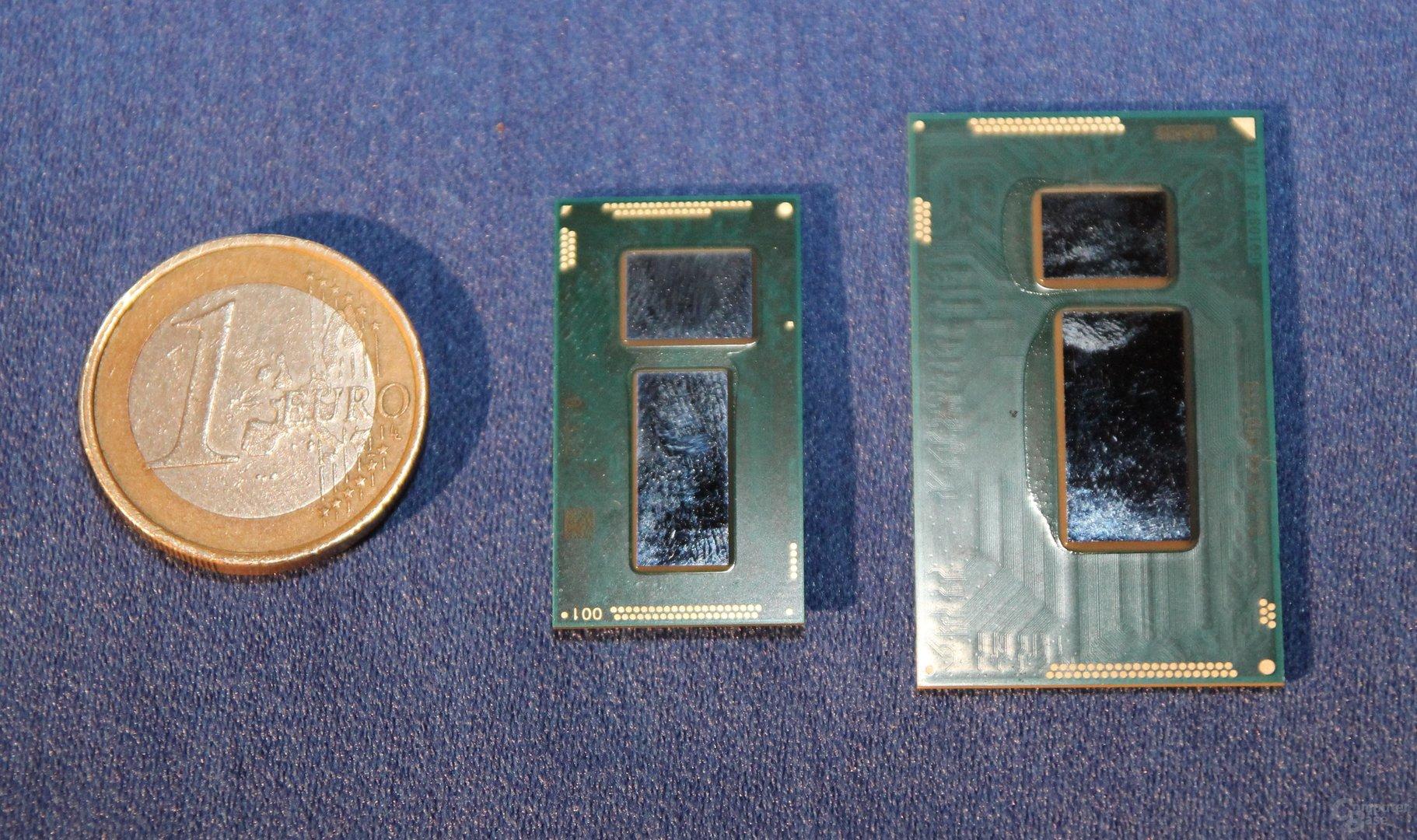 Intel Core M (mi) vs. Haswell-Y (re)