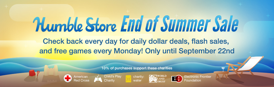 End of Summer Sale im Humble Store