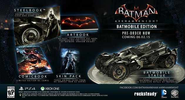 Batman: Arkham Knight – Batmobile Edition