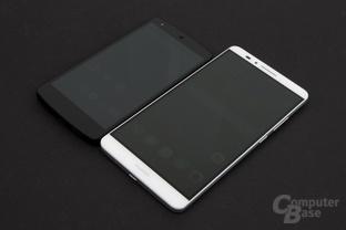 Größenvergleich mit Nexus 5