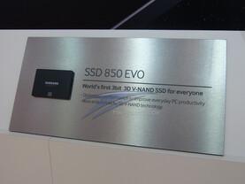 Samsung 850 Evo (Dummy) auf der IFA