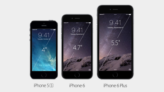 iPhone 5S, 6 und 6 Plus