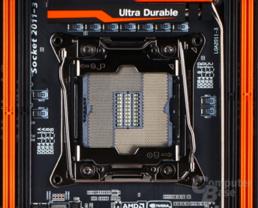 Gigabyte X99 SOC Force mit Standard-Sockel