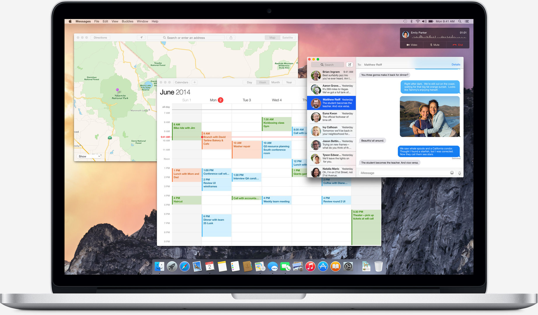 Neues Design in OS X 10.10