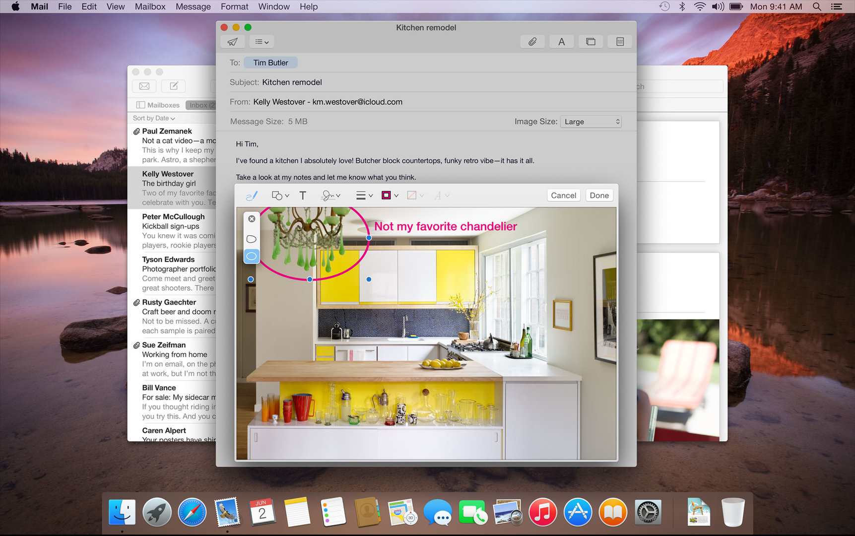 Mail in OS X 10.10