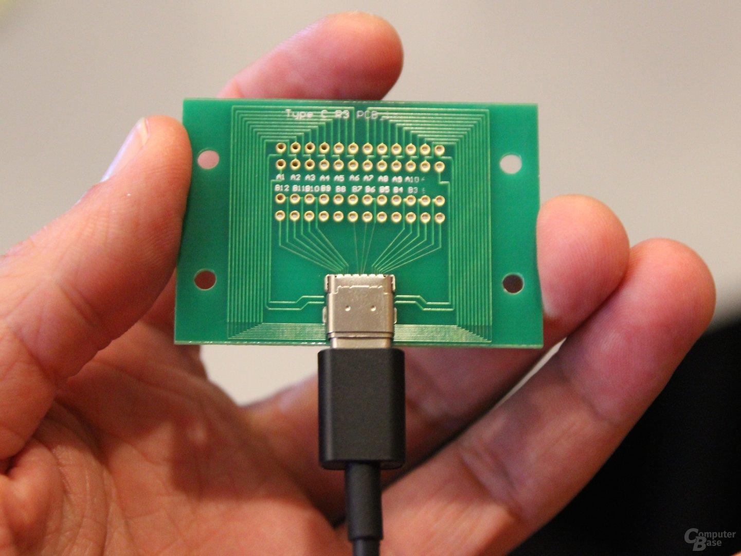 USB Type-C und Entwicklerplatine