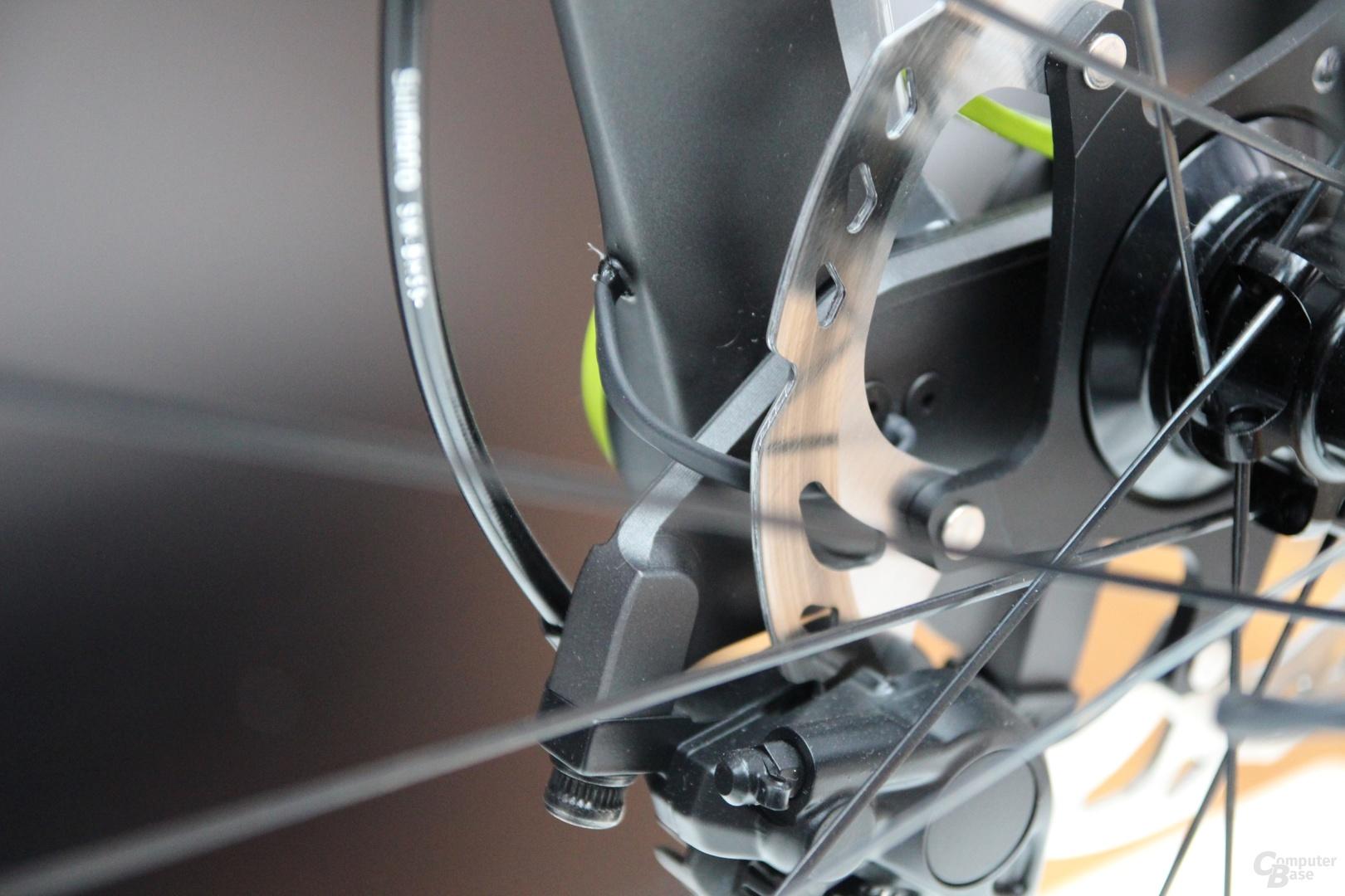 Intelligentes Fahrrad von Canyon